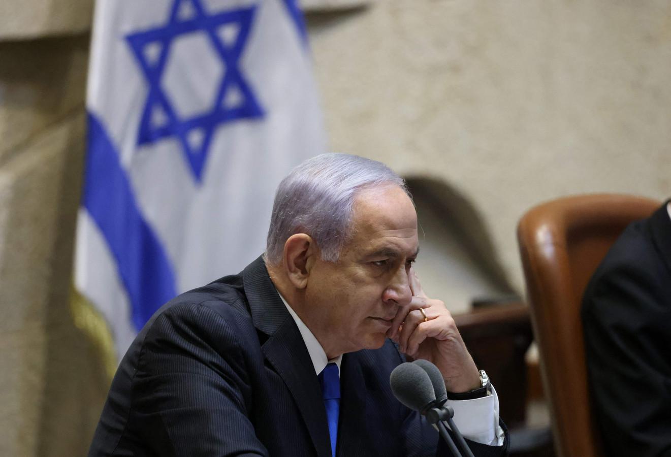 De Israëlische ex-premier Netanyahu