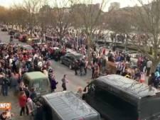 Des centaines de personnes rassemblées à Liège lors d'un carnaval clandestin