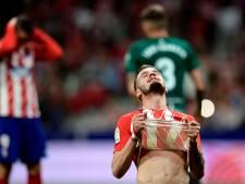 Atlético focust op Europa League en morst weer punten in La Liga