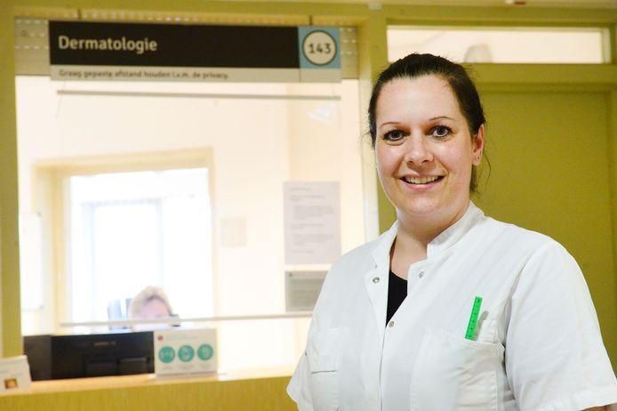 Dermatoloog Tanja Vogel van MST.