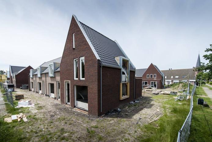 Seniorenwoningen in aanbouw in Hoogerheide. Tonny Presser/Pix4Profs