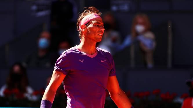 Verrassing in Madrid: gravelkoning Nadal uitgeschakeld door Zverev in kwartfinale