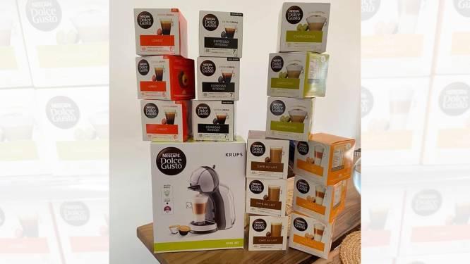 PROMOJAGERS SUPERTIP. Black Friday is nog niet voorbij: koffiezet kopen, 15 dozen capsules gratis