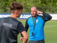 Nicky Hofs zet vol in op hoofdtrainerschap profvoetbal