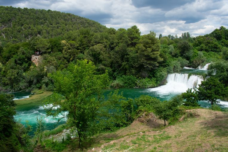De Krka-rivier in het Krka National Park, Kroatië. Beeld Laura Bentley