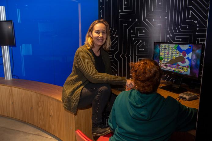 Sabine Donders organiseert het kennis-event Level-Up! in de LocHal.