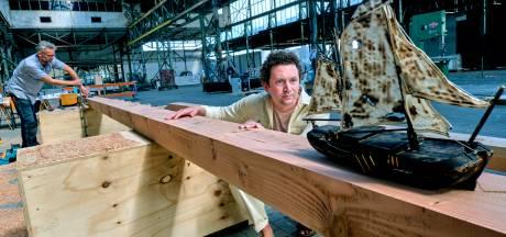 Spierballen gezocht om historisch schip door Dordrecht te sleuren