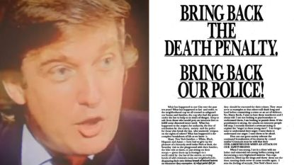 """Ze gaven hun schuld toe"", Donald Trump en de Central Park Five"