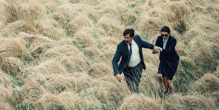 Colin Farrell en Rachel Weisz in The Lobster. Beeld