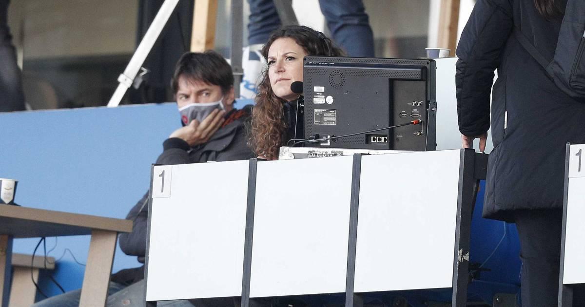 Primeur voor Suse van Kleef: eerste vrouwelijke voetbalcommentator Langs de Lijn - AD.nl