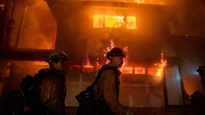 Nieuwe bosbranden in de buurt van Los Angeles door krachtige wind: nieuwe evacuatiegolf
