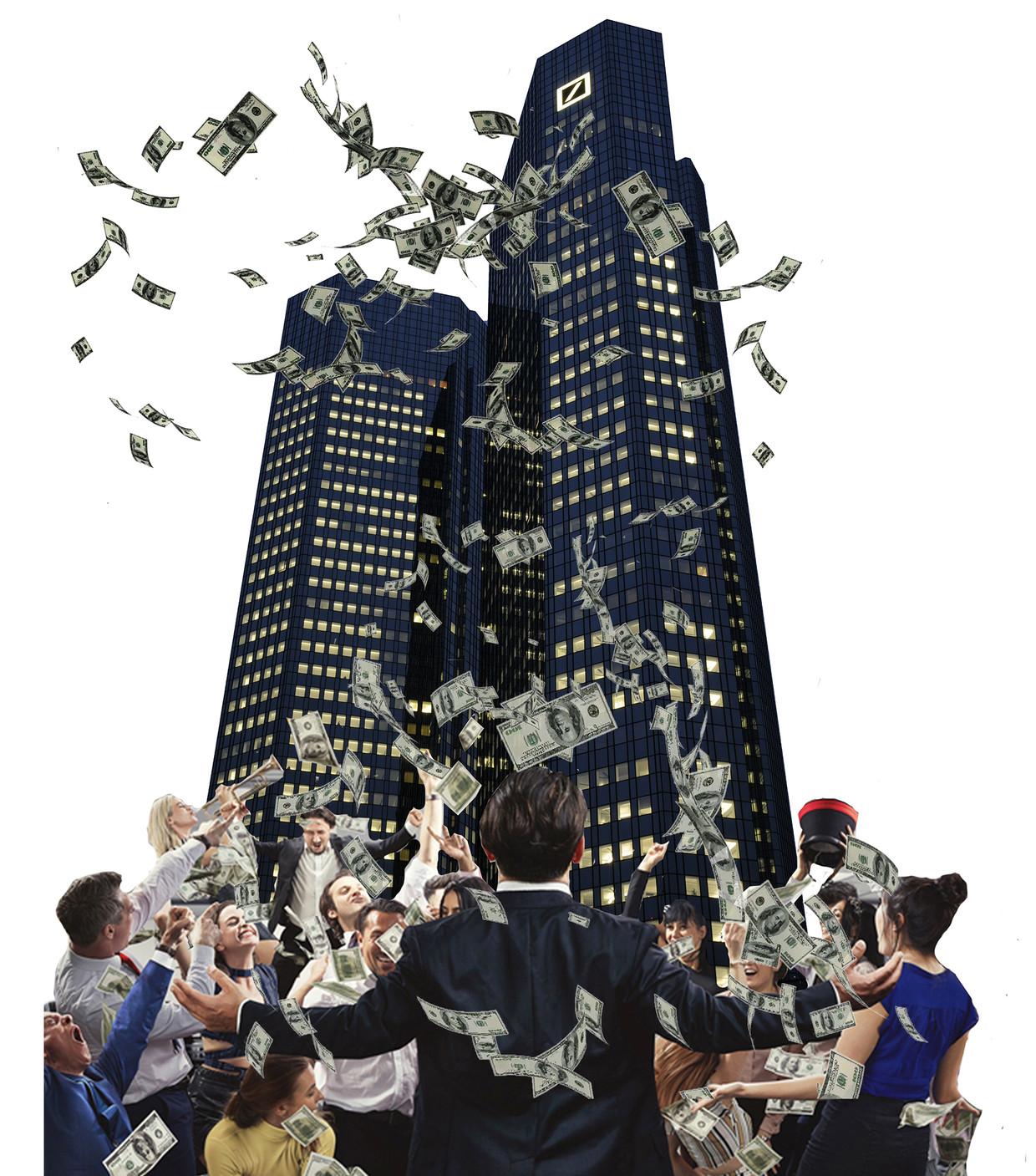 'Deutsche Bank was het massavernietigingswapen van de financiële wereld.' Beeld © Zoonar.com/Volker Rauch