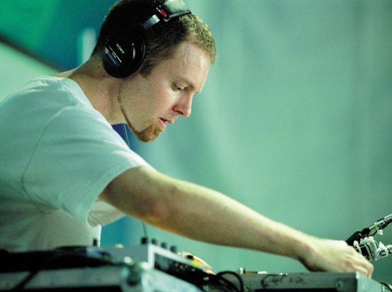 DJ Shadow op Lowlands in 2002. Beeld Redferns