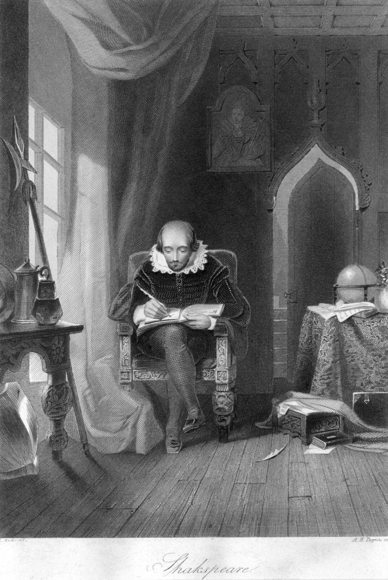 9. Schrijver: William Shakespeare. 'Niemand geeft zo prachtig inzicht in de menselijke geest.' Beeld Getty