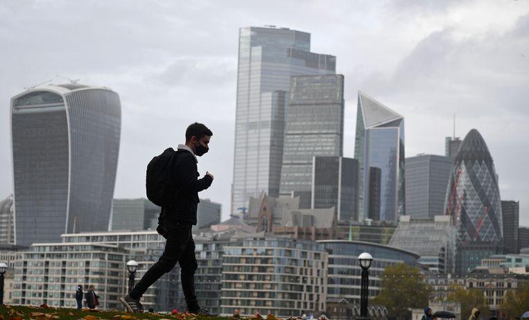 Lockdown in Londen. Beeld AFP