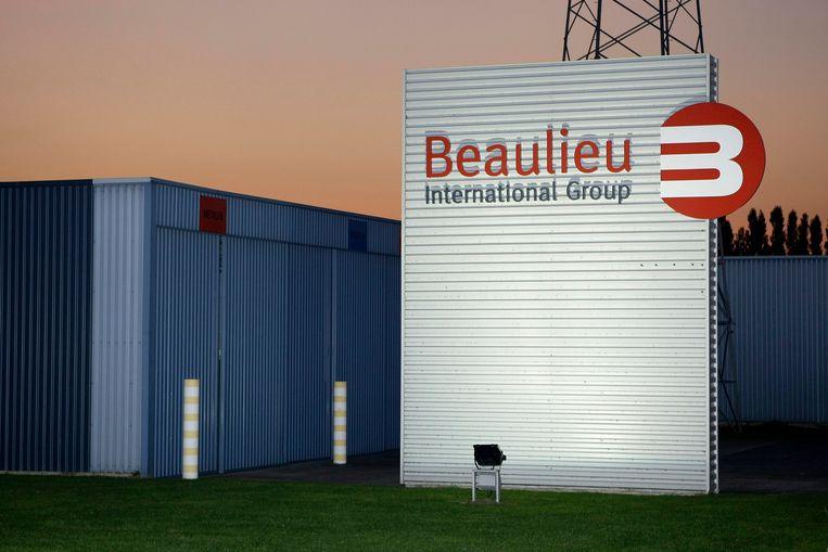 De vestiging van Beaulieu International Group in Kruishoutem. Beeld BELGA