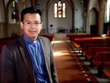 Pastoor Tuan Nguyen vertrekt uit Hoogland