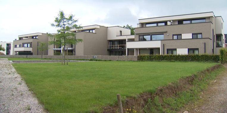 Het nieuwbouwproject in Sint-Truiden. Beeld VTM