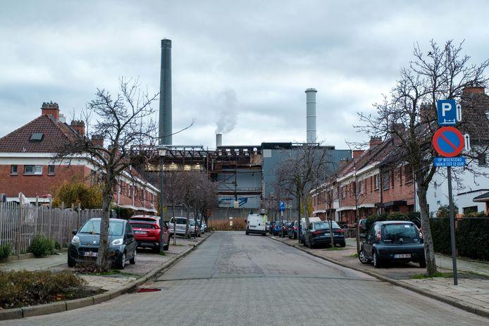 De wijk Moretusburg ligt vlakbij de fabriek van Umicore in Hoboken.