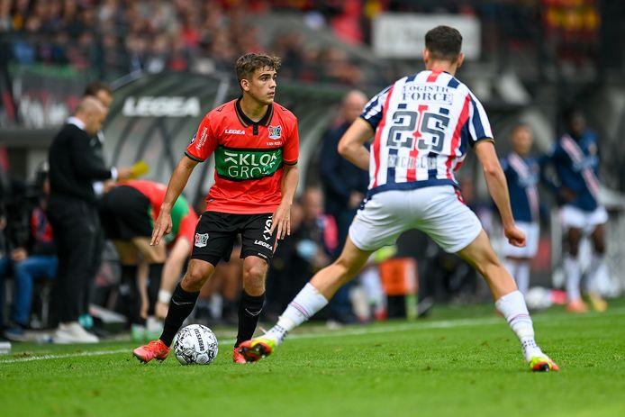 NEC'er Bart van Rooij is in beeld bij Jong Oranje.
