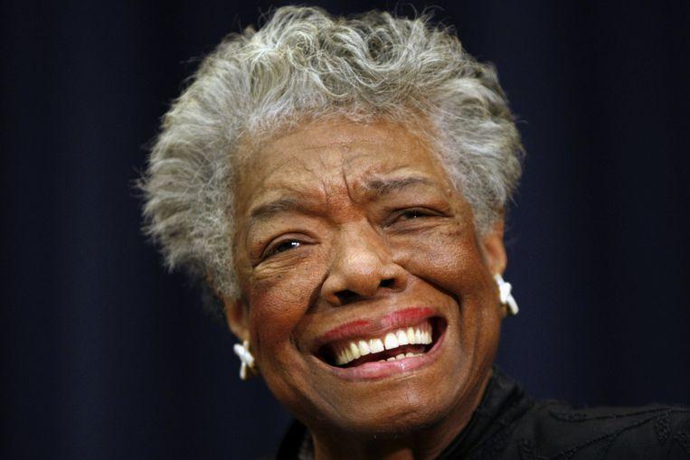 Maya Angelou Beeld ap