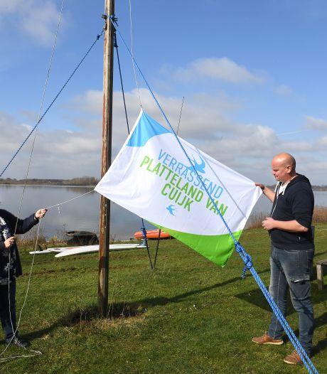 Met nieuwe vlag in top is Land van Cuijk klaar voor toeristen