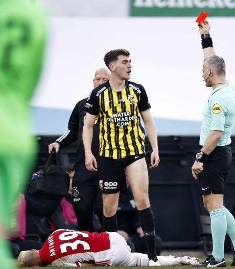 Rasmussen twee duels aan de kant na rood in bekerfinale