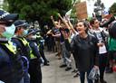 Afgelopen week nog is er tegen de beperkingen geprotesteerd in Melbourne.