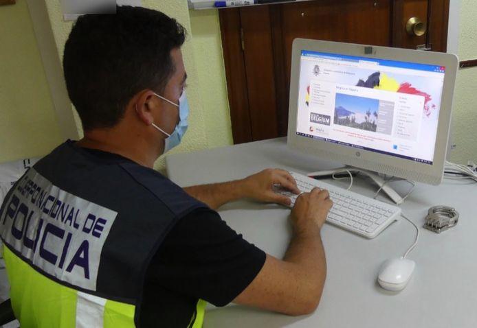 Na een anonieme klacht startte de Spaanse politie een onderzoek.