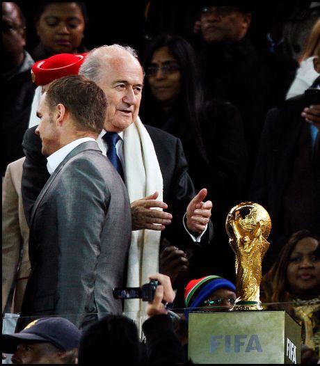Fotoserie | Oranje WK-finalist met De Boer als rechterhand Van Marwijk