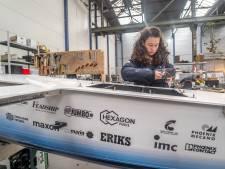 Knappe koppen ontwerpen vliegende waterstofboot