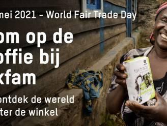 Oxfam Wereldwinkel opent koffieterras