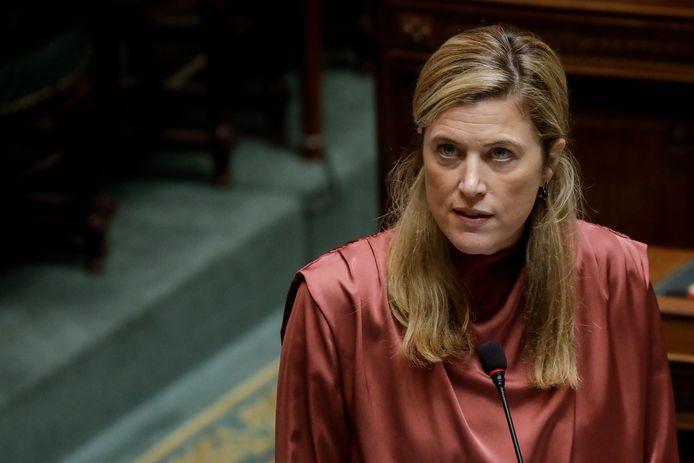 La ministre de l'Intérieur Annelies Verlinden (CD&V).