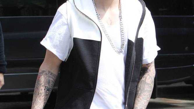 Justin Bieber betrapt op vandalisme