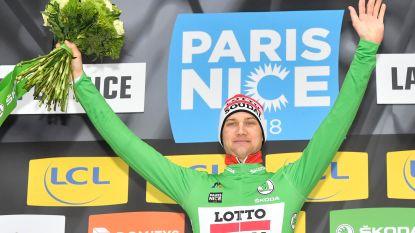 Op naar Belgisch feestje in Nice? Groene trui voor Wellens, bolletjestrui voor De Gendt, twee Belgen in top vijf