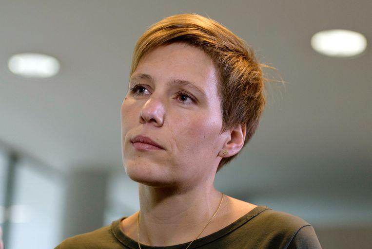 Ine Van Wymersch. Beeld Photo News