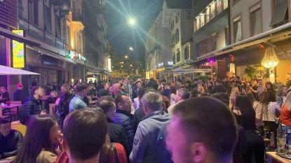 Opening cafés en restaurants leidt tot stormloop zónder social distancing in Zwitserse Bazel