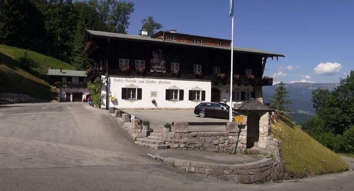 Hotel Zum Türken in Berchtesgaden in de deelstaat Beieren.