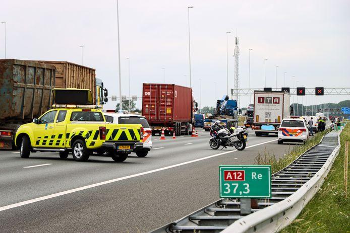 Het ongeluk bij Nieuwerbrug.