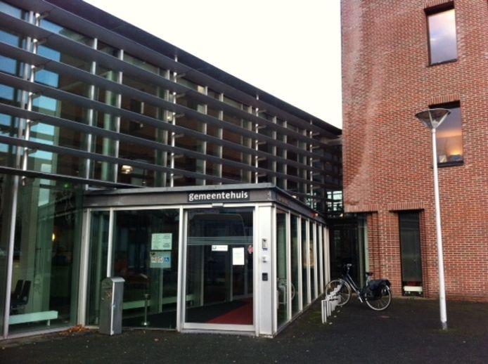 Het gemeentehuis van Rhenen.