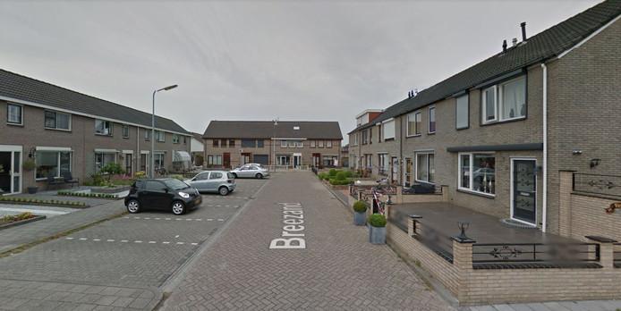 De Breezand is een kleine straat op Urk.