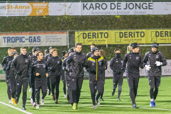 Vanavond speelt Olsa Brakel tegen Club Brugge.