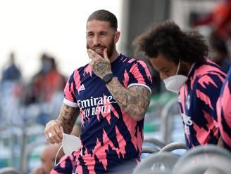 Op weg naar de uitgang? Sergio Ramos ontbreekt bij voorstelling nieuwe shirts Real