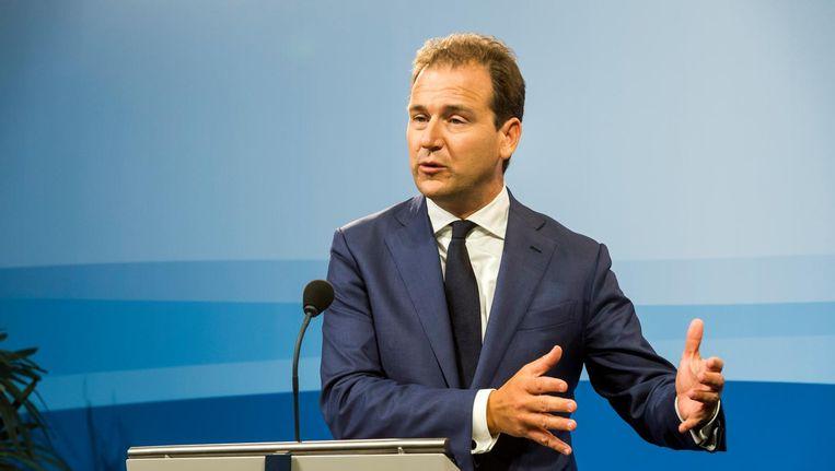 Minister Lodewijk Asscher heeft critici van zijn flexwet er van langs gegeven. Beeld anp