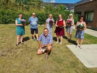 ACV Begijnendijk-Betekom zet medewerkers van verschillende schoonmaakdiensten in de bloemetjes