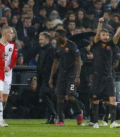 UEFA bestraft AS Roma voor duel bij Feyenoord