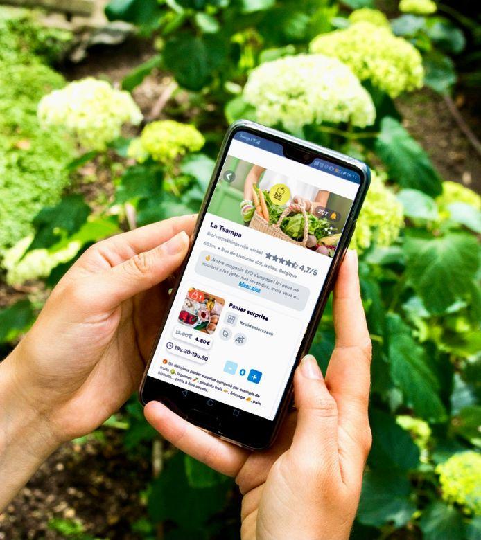 Phenix-app zet voet aan wal in Brussel.