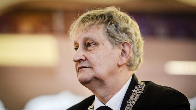 Burgemeester van der Laan Beeld anp