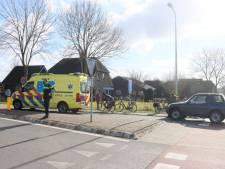 Automobilist geeft fietser geen voorrang in Giethoorn, fietser gewond