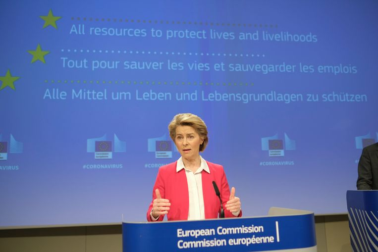 Archive image.  President of the European Commission Ursula von der Leyen.  (04/02/2020)